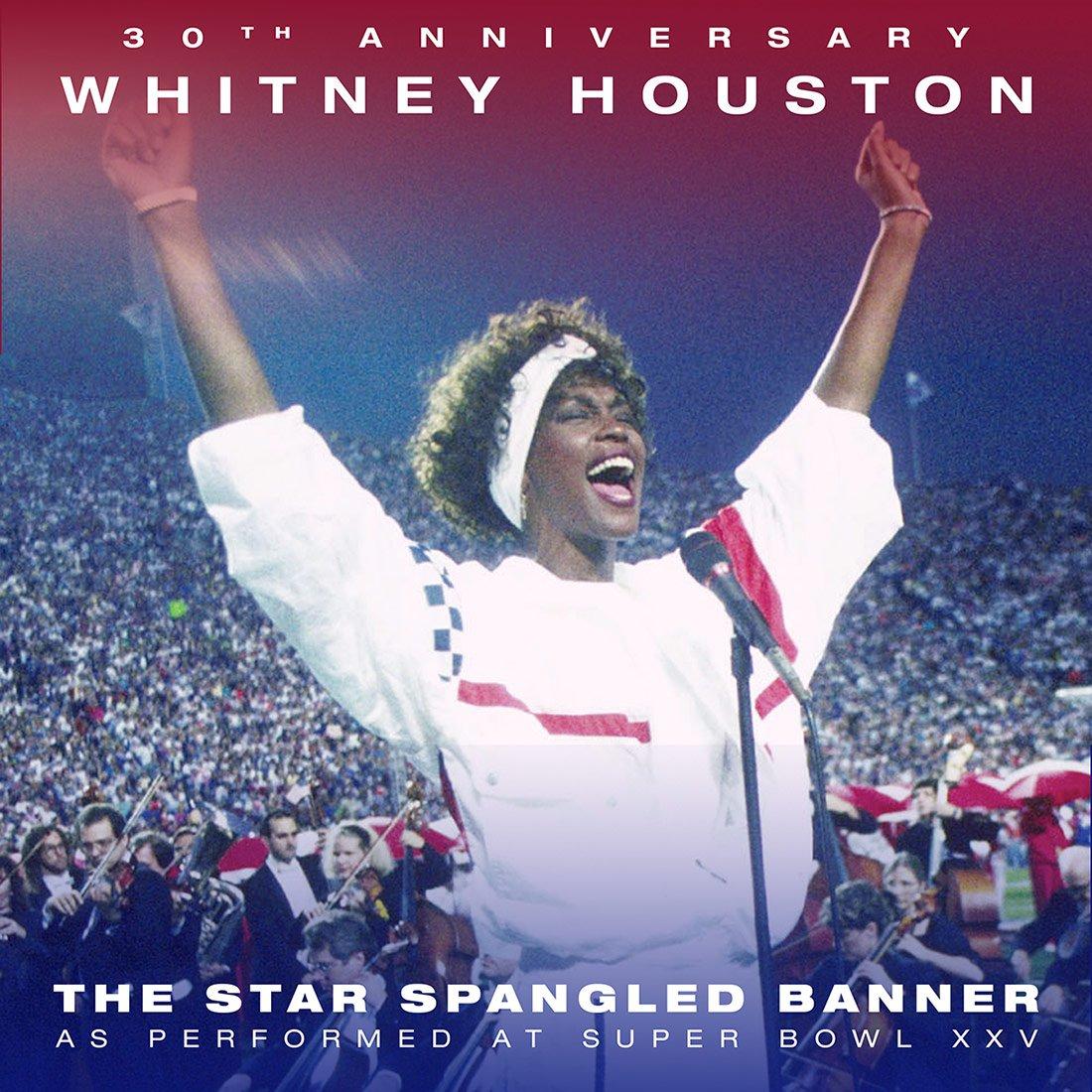 Whitney Houston The Star Spangled Banner 30th Anniversary