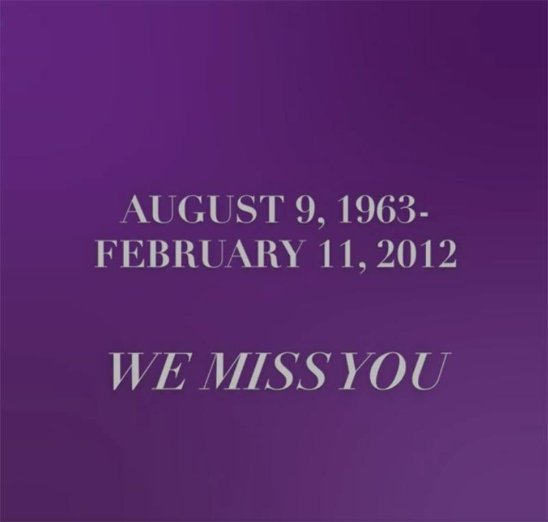 Whitney Houston August 9, 1963 - February 11, 2012
