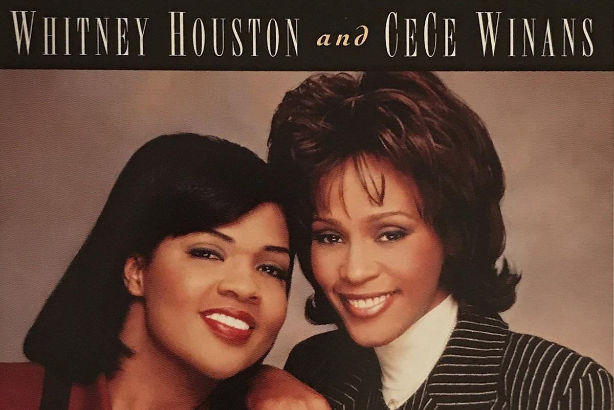Whitney Houston and CeCe Winans