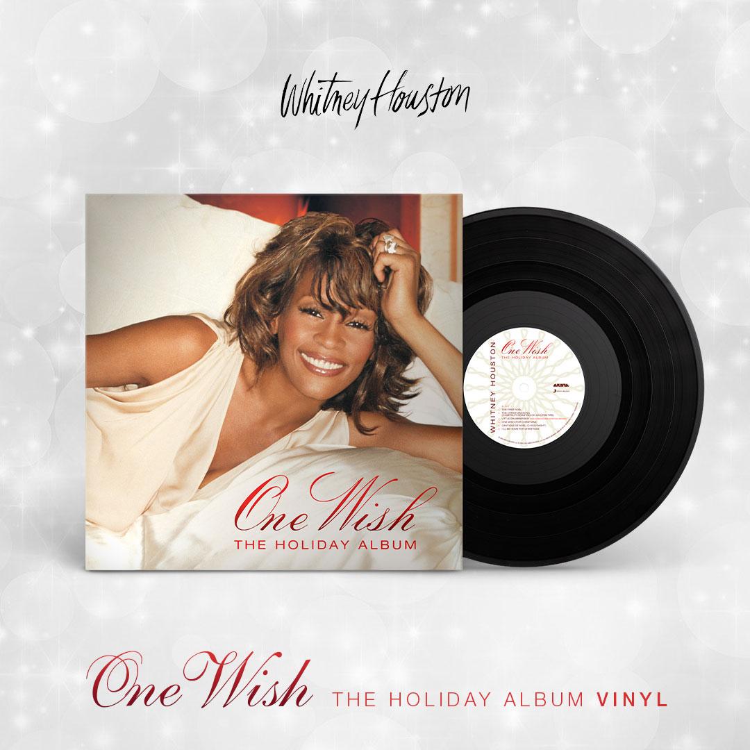 Whitney Houston - One Wish: The Holiday Album black vinyl