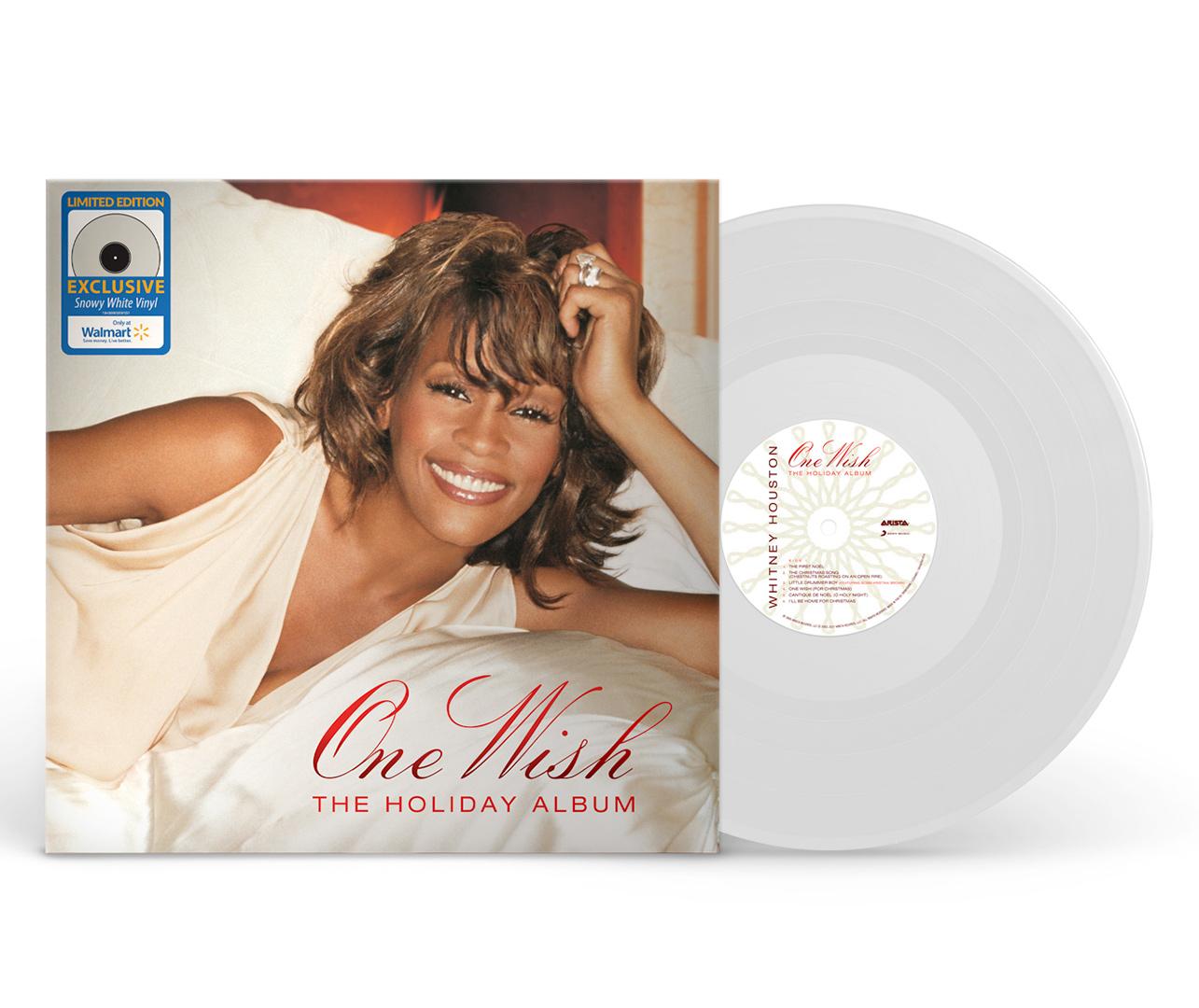 Whitney Houston - One Wish: The Holiday Album white vinyl