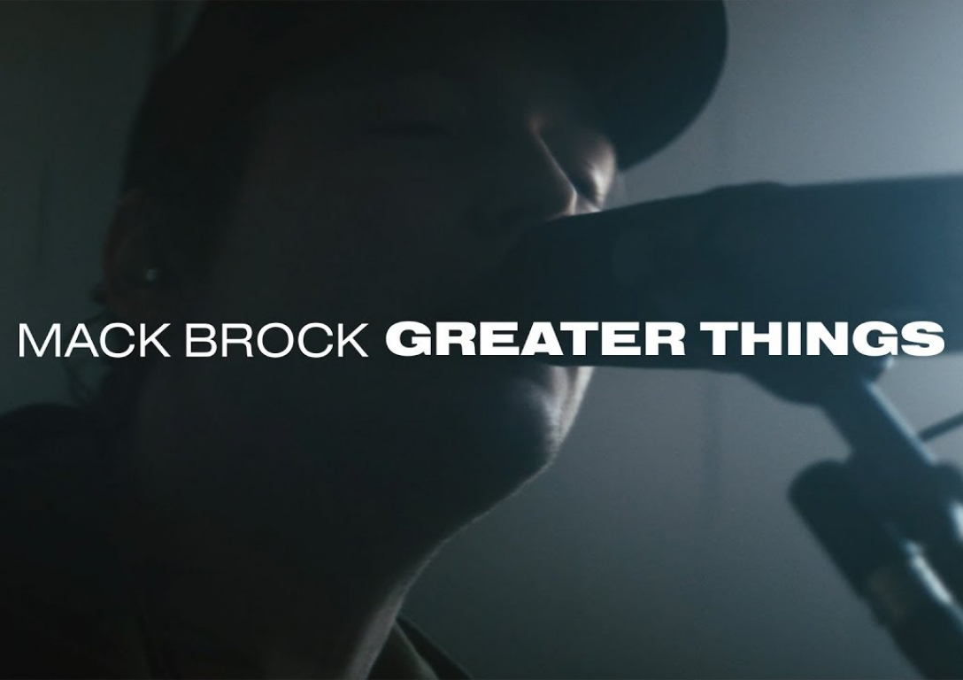 Mack Brock - Greater Things (Live)