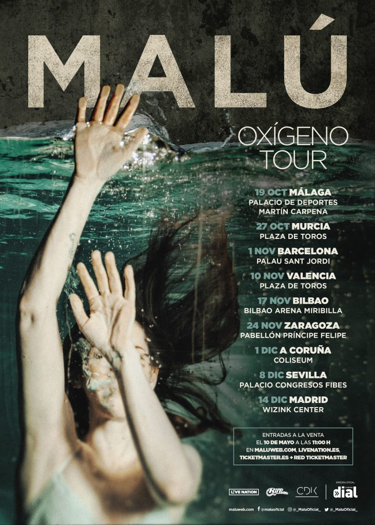 MALÚ CONFIRMA SU ESPERADA NUEVA GIRA: 'OXÍGENO TOUR' - Malu