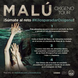 SÚMATE AL RETO, #KilosParaDarOxígeno
