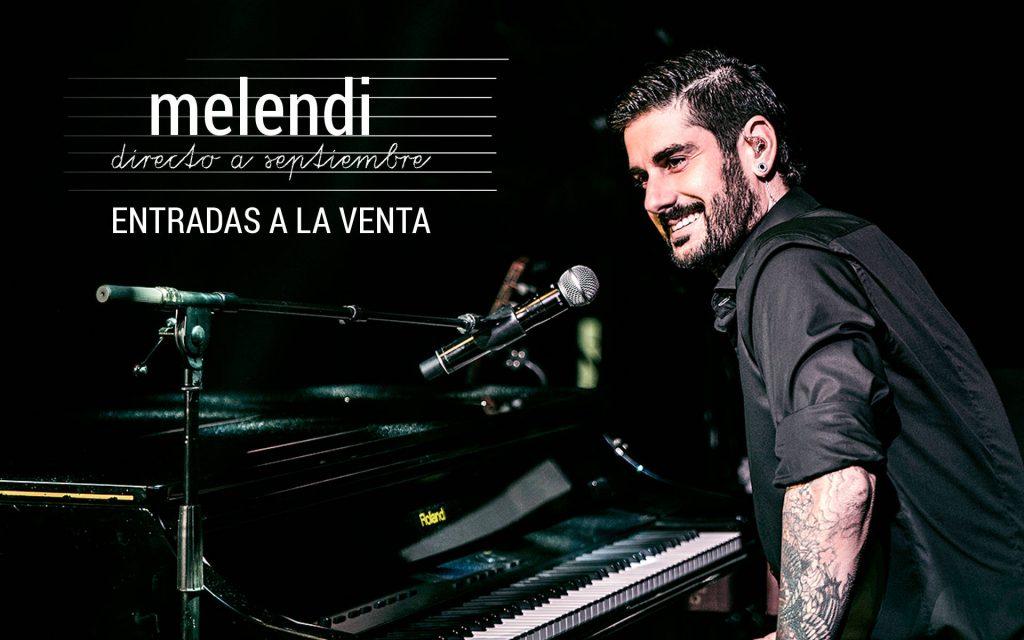 Melendi anuncia su próximo concierto de Directo a Septiembre