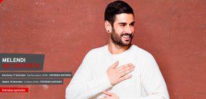 #VodafoneYu Music Shows presenta a Melendi en concierto en Barcelona y Madrid