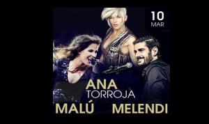 Melendi actuará junto a Malú y Ana Torroja en Starlite México 2016