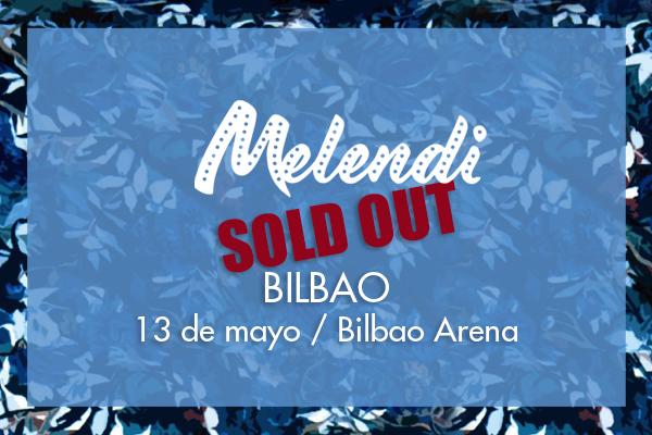 AGOTADAS las entradas del concierto Quítate las gafas de Melendi en BILBAO