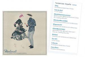 #DesdeQueEstamosJuntos de Melendi es tendencia en Twitter España