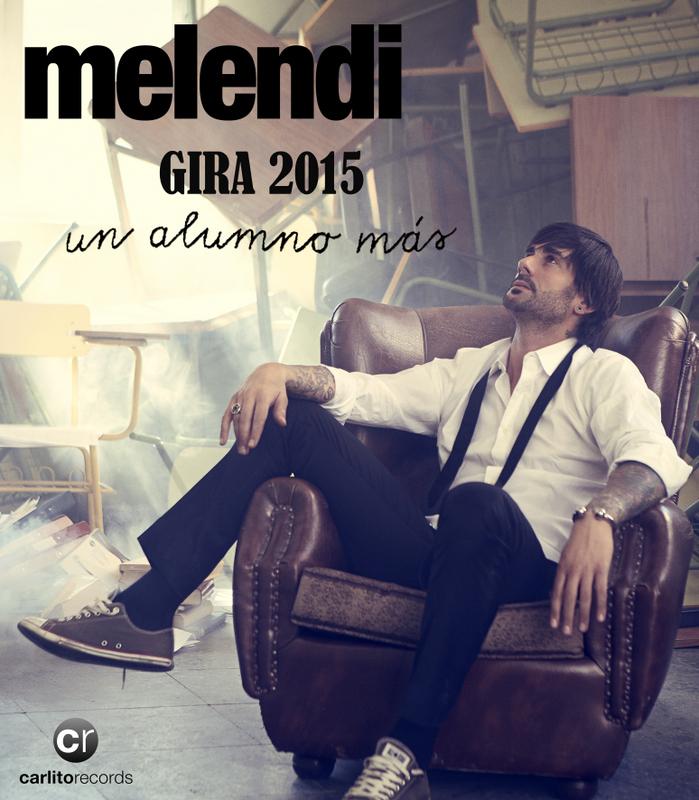 """Gira """"Un alumno más"""" de Melendi"""