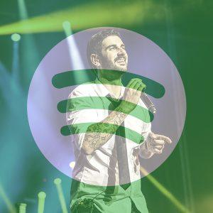 Melendi, el artista más escuchado en Spotify España.