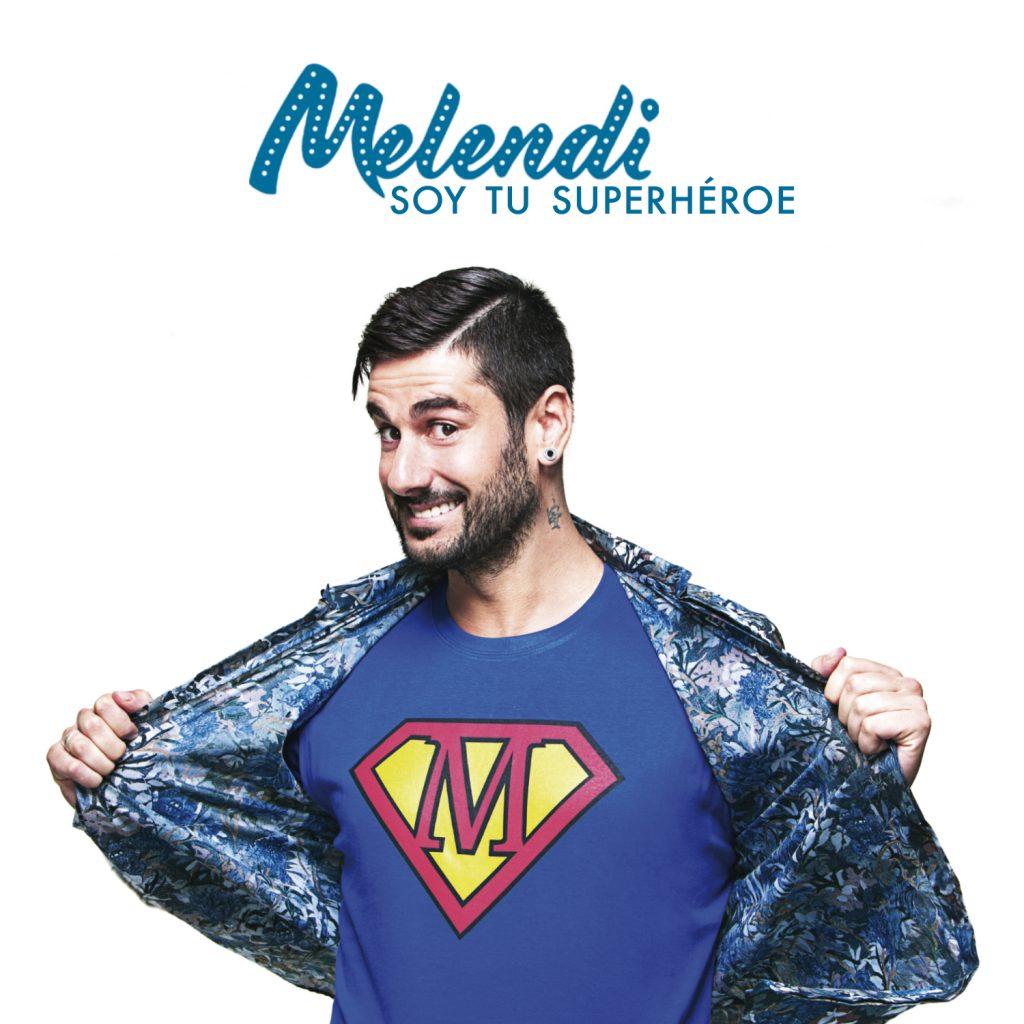 """Melendi publica hoy """"Soy tu superhéroe"""", nuevo avance de """"Quítate las gafas"""""""