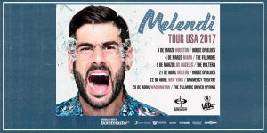 Melendi anuncia su primer tour en Estados Unidos con Quítate las gafas