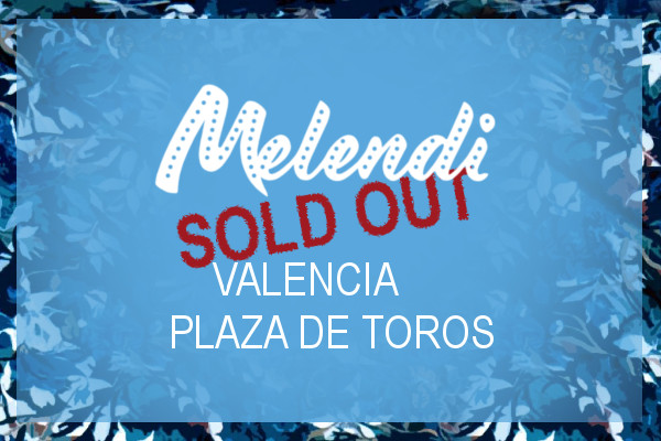 Concierto Quítate las gafas de Melendi en Valencia - SOLD OUT con 4 meses de antelación