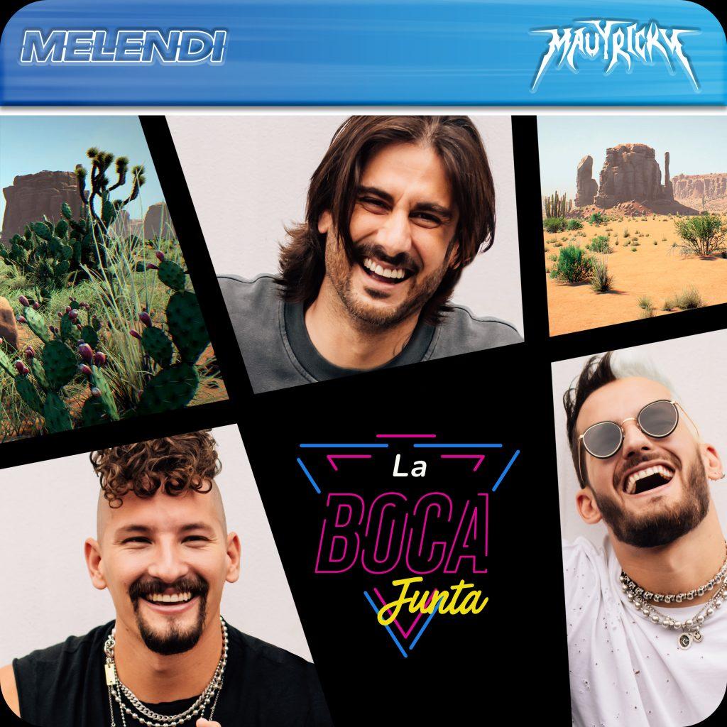 """Melendi regresa con """"La boca junta"""" junto a Mau y Ricky"""