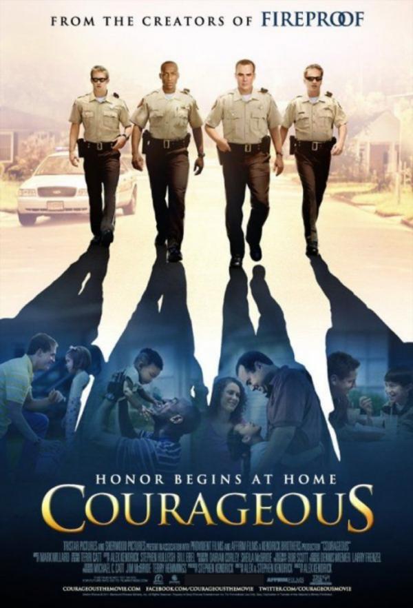 Courageous Key Art