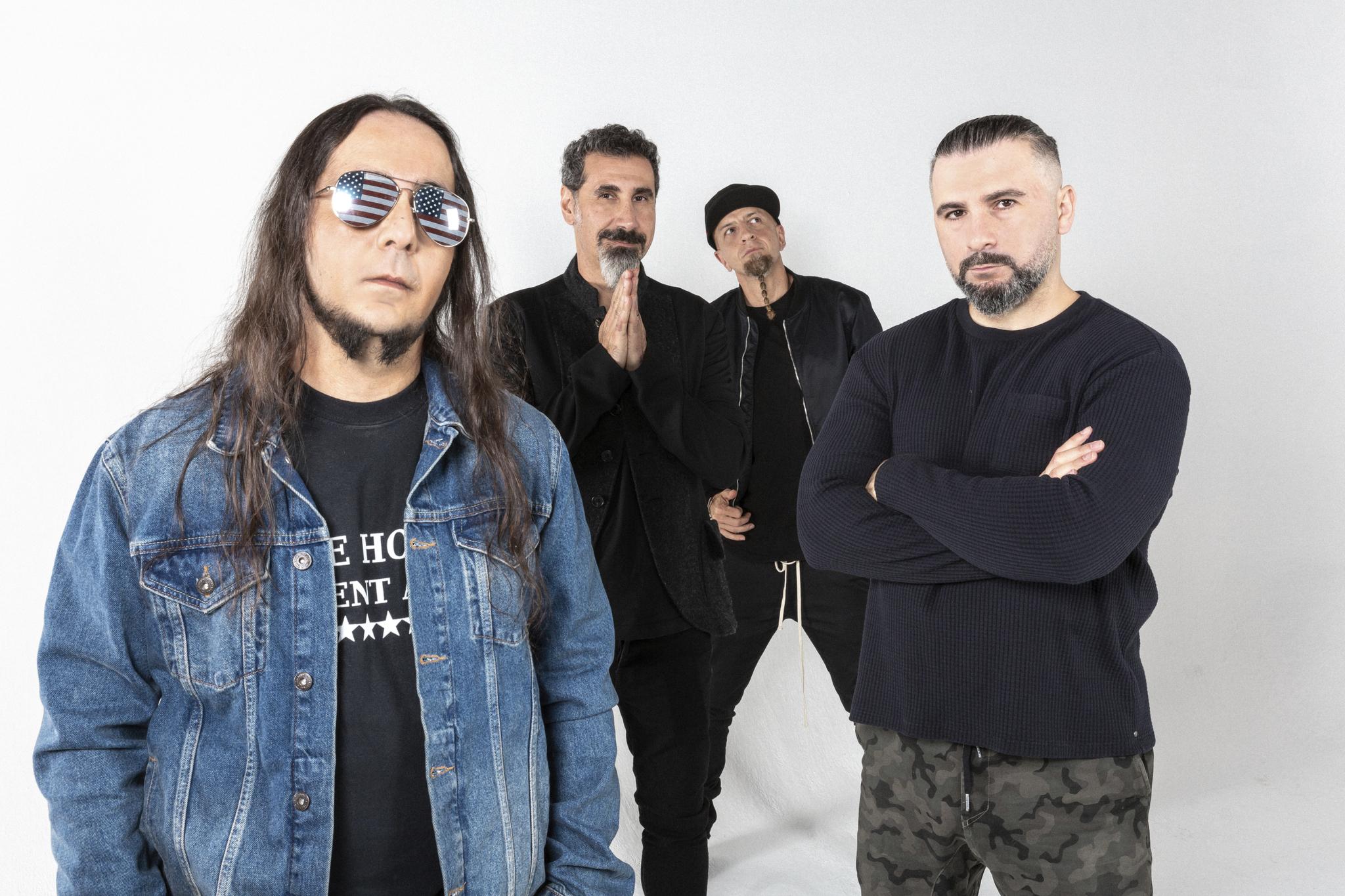 System Of A Down veröffentlichen zwei neue Songs