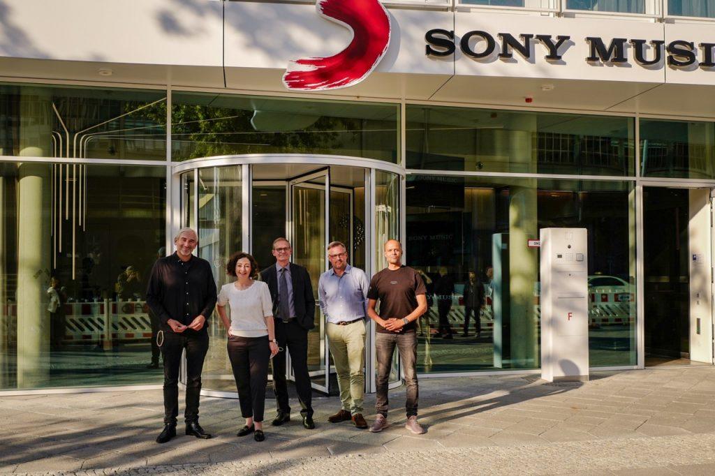 Gruppenfoto Sony Music